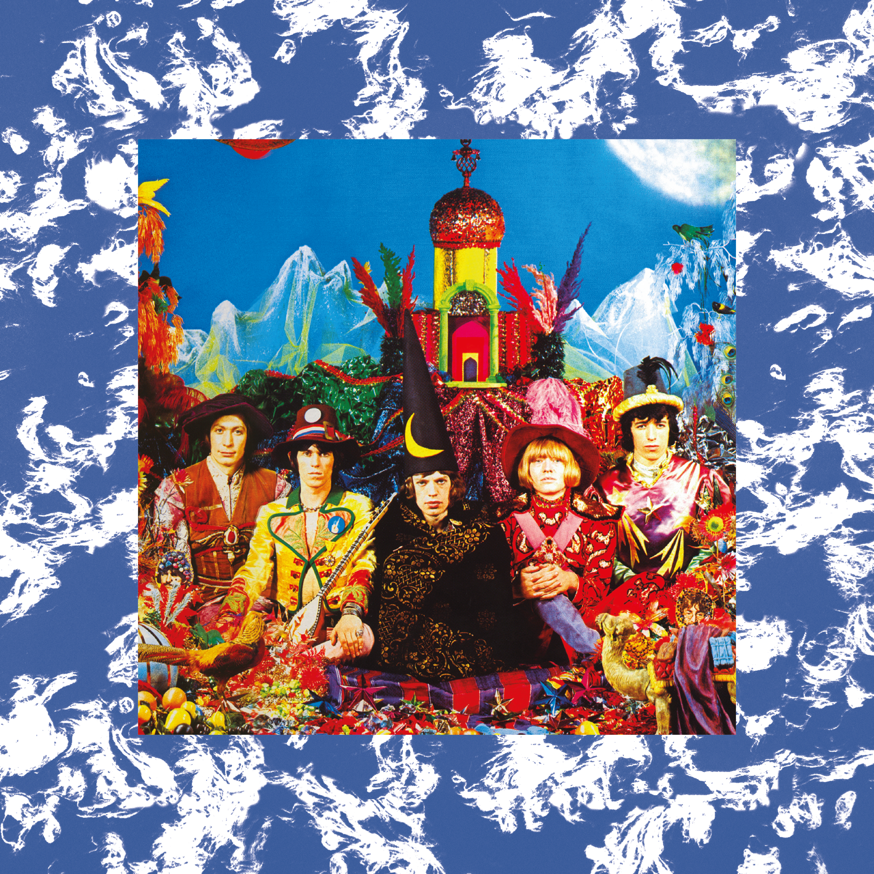 The Rolling Stones Their Satanic Majesties Clear Vinyl Lp
